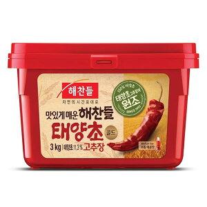 コチュジャン/へチャンドル(3kg/韓国産)|業務用4個入/送料無料