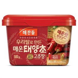 コチュジャン(辛口)/へチャンドル(500g/韓国産)|業務用20個入/送料無料