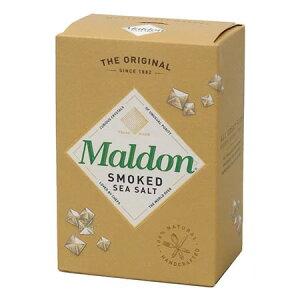 マルドン スモーク シーソルト125g【輸入食品・外国産(イギリス・マルドンの燻製塩)】