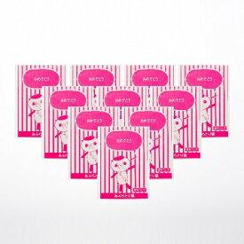 【金沢パンダ「ありがとう」あぶらとり紙 10冊セット】あぶらとり あぶらとり 金沢 化粧 メイク 箔座 HAKUZA