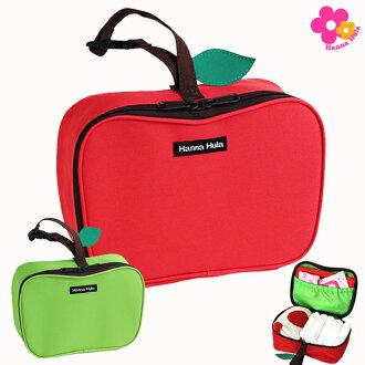 漢娜跳草裙舞 hannaffra) 蘋果多目的郵袋 (尿布袋)-蘋果紅 fs2gm