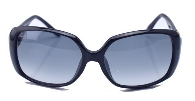 【中古】【美品】GUCCI グッチ インターロッキング GG3520 黒系 サングラス