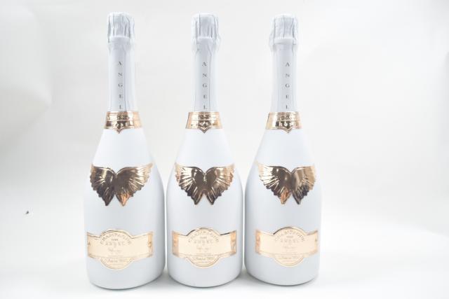 【未開栓】 ANGEL エンジェル シャンパン ロゼ 750ml 3本セット クール便送料込み 【中古】