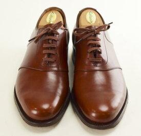 【中古】LLOYD FOOTWEAR? ロイドフットウェア エドワードグリーン製 201 キングストン 革靴 ビジネスシューズ 希少 ブラウン その他