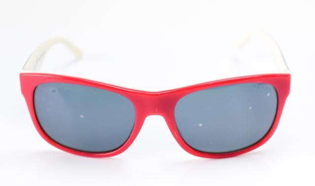 【中古】【美品】PRADA プラダ カラフル イタリア製 プラスチックフレーム SPR24L 赤×黒×白 サングラス
