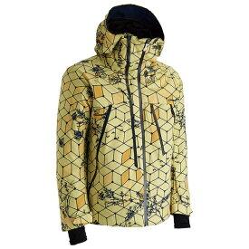 Mizuno2019 フリースキージャケットスーツ834074 イエローMP WS(レディースのS) スキー・スノボ