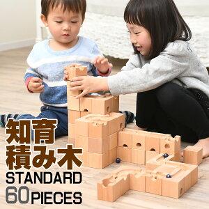 【ランキング1位5冠達】積み木 知育 玩具 つみき 木製 正方形 ブロック 迷路 ビー玉 転がし 出産祝い 幼稚園 保育園 プレゼント ピタゴラスイッチ ギフト 天才のはじまり 思考力を養う 天才