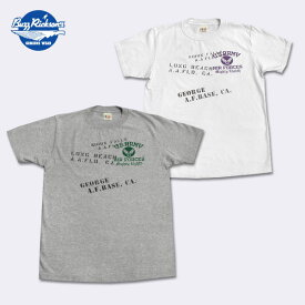 BUZZ RICKSON'S(バズリクソン)半袖Tシャツ【BR75022 U.S.AIR FORCES】