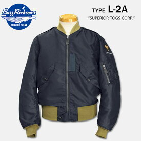 "BUZZ RICKSON'S(バズリクソンズ) Type L-2A ""SUPERIOR TOGS CORP.""GREEN RIB【BR14130】"