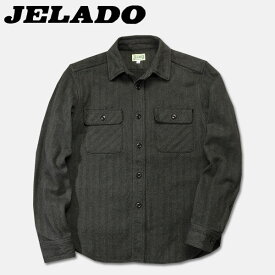 JELADO(ジェラード)長袖チェックネルシャツ(ショート丈)【JP94115】セサミ