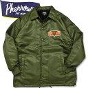 PHERROW'S (フェローズ )コーチジャケット【20W-PBCJ1】オリーブ