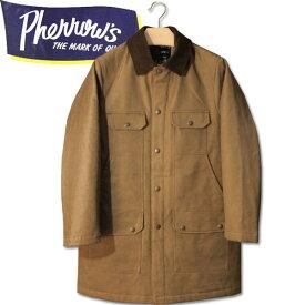 PHERROW'S (フェローズ )コットンハンティングジャケット【19W-PHC1】ベージュ