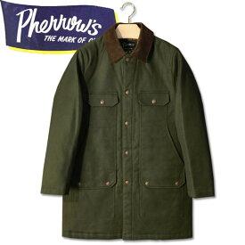 PHERROW'S (フェローズ )コットンハンティングジャケット【19W-PHC1】オリーブ