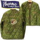 PHERROW'S (フェローズ )リップストップナイロンキルティングジャケットVETNUM JACKET(ベトジャン)【19W-PVQC1】ウッドランドカモフラージュ