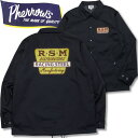 PHERROW'S (フェローズ )コーチジャケット【20S-PCJ3】ネイビー