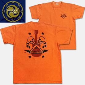 SAMURAI JEANS(サムライジーンズ)半袖Tシャツ【SOT13-101】オレンジ