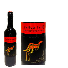 【6本以上で10%OFF】 (赤ワイン) オーストラリア カセラ イエローテイル カベルネ・ソービニヨン ミディアムボディ イェンダ