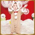 11月中旬入荷予約マシュマロトナカイBaby子供用キッズベビーサンタクロースクリスマスコスチュームXmas衣装