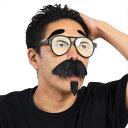 宴会の達人 でかメガネ&&ひげ めがね 変装 おもしろグッズ おもしろ雑貨 仮装