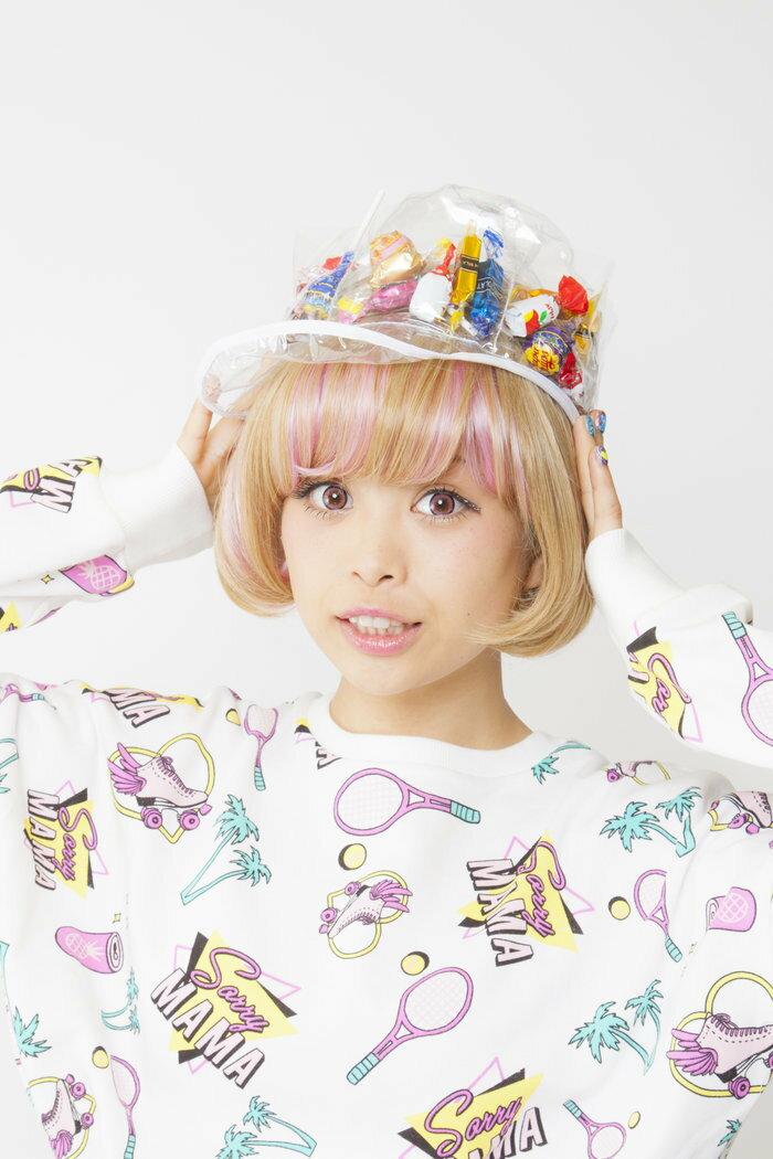 お菓子の入る デコポケポケット帽子 ハロウィン コスチューム コスプレ 男女共用 仮装 パレード 衣装