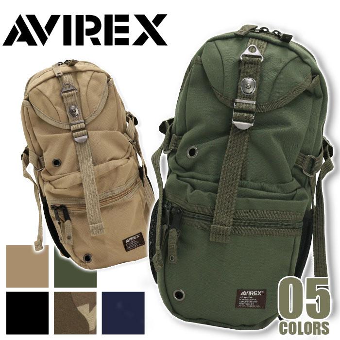 <ポイント10倍> AVIREX アビレックス アヴィレックス イーグル ボディバッグ ワンショルダー バッグ ミリタリー ブラック ネイビー カモ ベージュ カーキ AVX305L