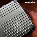 イノベータースーツケース innovator inv1811 LASER レーザー入り 36L Sサイズ 機内持ち込みサイズ アルミキャリー…