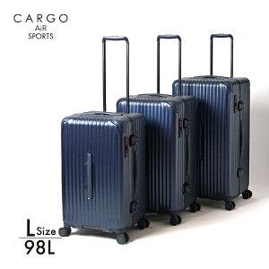 CARGO AiR SPORTS カーゴエアースポーツ TRIO トリオ 軽量 キャリーケース スーツケース アウトドア キャンプ CAT-88SSR Lサイズ 98L【送料無料・2年間保証】