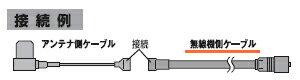 COMET(コメット) 車載用同軸ケーブル F545M(F-545M) (4.5m・MP型)