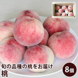 【クール便】 長野県産 須高の桃 約2.5キロ 8個入り もも 【送料無料】 旬の桃 もも ピーチ フルーツ 夏ギフト