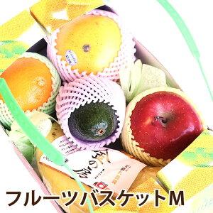 フルーツバスケットM果物マイスターが厳選した旬の果物詰め合わせ 送料無料フルーツ 盛り合わせ ギフト(母の日・父の日・御中元・御歳暮・お彼岸・お見舞い等々)