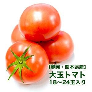【愛知県産】大玉トマト 4kg 18-24玉入り 送料無料 箱売り リコピン とまと tomato ミネストローネ 料理 調理 食 グルメ