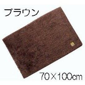 抗菌マット Ag+バスマット70×100cm ブラウン