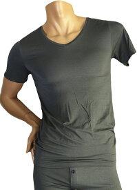 GRAVEVAULT 【ATYPICAL】 バンブー VネックTシャツ M/L  /あす楽対応 正午まで当日発送 (土日祝日を除く)