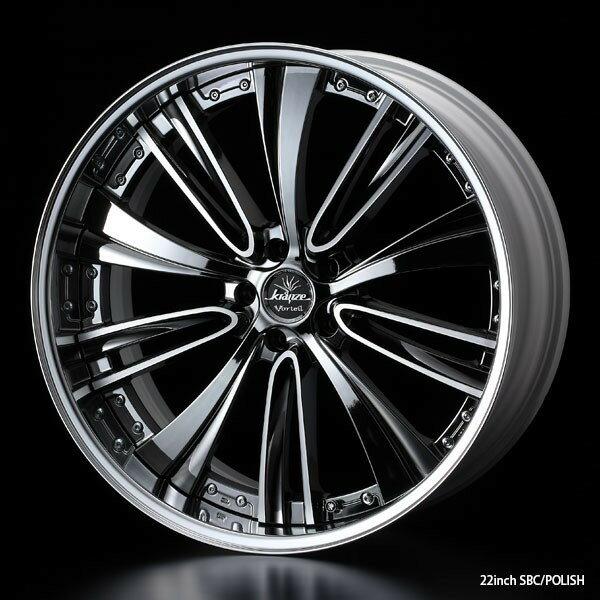 タイヤ ホイール 4本セット 245/40R19 ウェッズ クレンツェ ヴォルテイル 8.50-19 120-5H 特選輸入タイヤ ホンダ レジェンド KC系 KB系 SBC/P