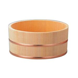 桶 さわら 風呂桶 銅タガ 6-481-7 φ230×115 高さ115 直径:230/業務用/新品