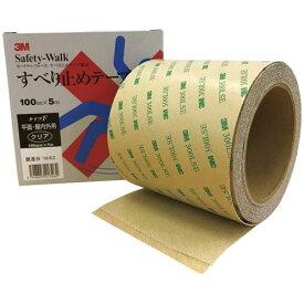 3M すべり止めテープ セーフティーウォーク タイプF クリア 100mm×5m/業務用/新品/小物送料対象商品