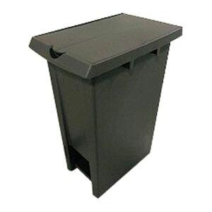 サンコー エコンダストボックス ペダル式ジョイント No.37 2枚蓋 ブラウン/業務用/新品/小物送料対象商品