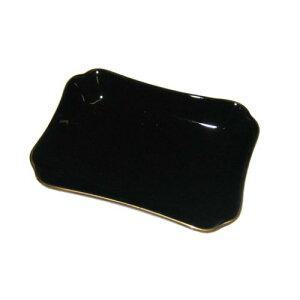 フリートレー スクエア S ブラック(107×78) 幅107×奥行78×高さ21(mm)/業務用食器/新品