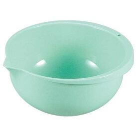 ボール PP抗菌 片口ボール 小 MS-104 グリーン(内径φ160) MS-104 外径:178、内径:160、深さ:80/業務用/新品