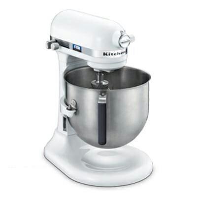 【業務用】キッチンエイドミキサー アームリフトタイプ 6.9リットル【KSM7WH】ホワイト【KitchenAid】【送料無料】