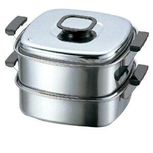 蒸器 角蒸器 2段 27cm PE 8入/業務用/新品/送料無料