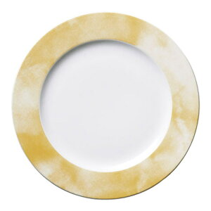 皿 オクラ 23cmミート皿 高さ22mm×直径:237/業務用/新品