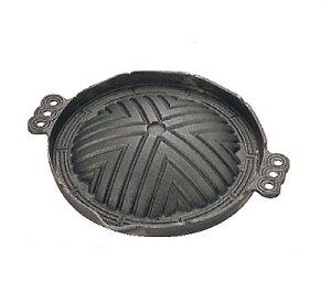 ジンギスカン鍋 CRー17 26cm 丸型(穴無)鉄製 トキワ/業務用/新品