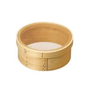 パン粉フルイ (木枠) 尺(30cm) 銅張 6.5メッシュ/業務用/新品