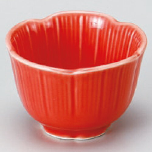小鉢 【キキョウ珍味 赤】 高さ35mm×口径:55【業務用】【グループB】