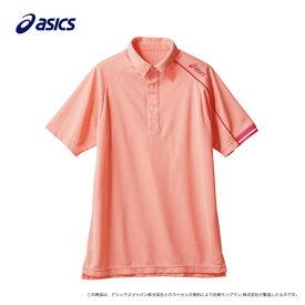 ポロシャツ 兼用 半袖 ピーチ×ローズ CHM305-1828/プロ用/新品