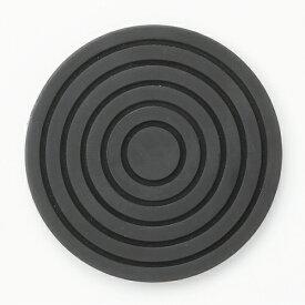 【サークルコースター ブラック】コースター 高さ4mm×口径:95【業務用】【送料別】