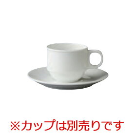 【プロフェッサー デミタス受皿】 ZEROJAPAN 高さ17(mm)【業務用】