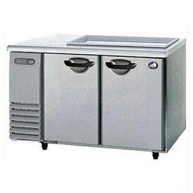パナソニック(旧サンヨー) サンドイッチ冷蔵庫 2ドア ピラーレス 単相100V SUR-GS1561SA 幅1500×奥行600×高さ812mm 【送料無料】【業務用】