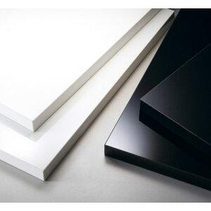 【受注生産品】CHERRY(チェリーレスタリア) テーブル天板 メラミン化粧板・共貼り2 幅500×奥行1100mm/業務用/新品/送料無料